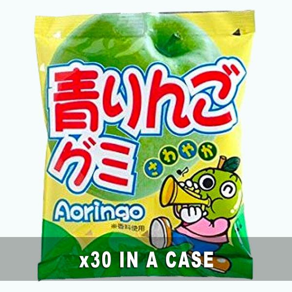 Yaokin Green Apple Gummy 30 in a case
