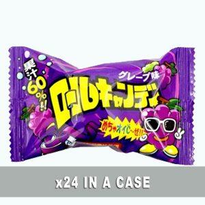 Yaokin Roll Candy Grape 24 in a case