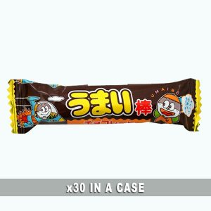 Yaokin Umaibo Chocolate 30 in a case