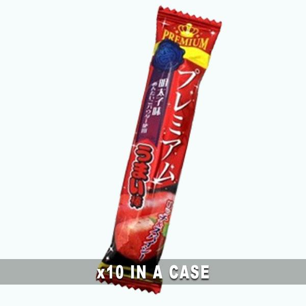 Yaokin Umaibo Premium Mentaiko 10 in a case